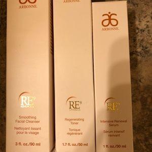Arbonne Makeup - Arbonne RE9 Full Set - Bundle for Em